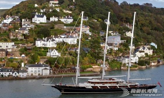 """超级帆船""""Eos Impressive""""号,主人是亿万富翁和电影大亨巴里-迪勒。 1.png"""