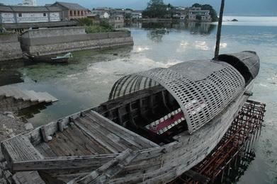 滇船记 15 ---带儿子看洱海,并约了赵师傅询问海东镇的那6艘改装龙船的事情。 6.jpg