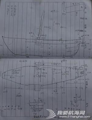 从江,大哥,厂房,蝴蝶泉,老师傅 滇船记 7 ---洱海帆船采用比较晚近的结构法建造,弯手置于底梁之前,两者用螺栓连接. 5.jpg
