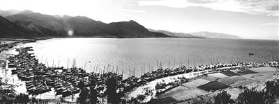 考古发现,大理州,船模型,司马迁,史记 滇船记 3--- 风依然很好,酝酿着择居洱海湖畔复原传统帆船的计划。