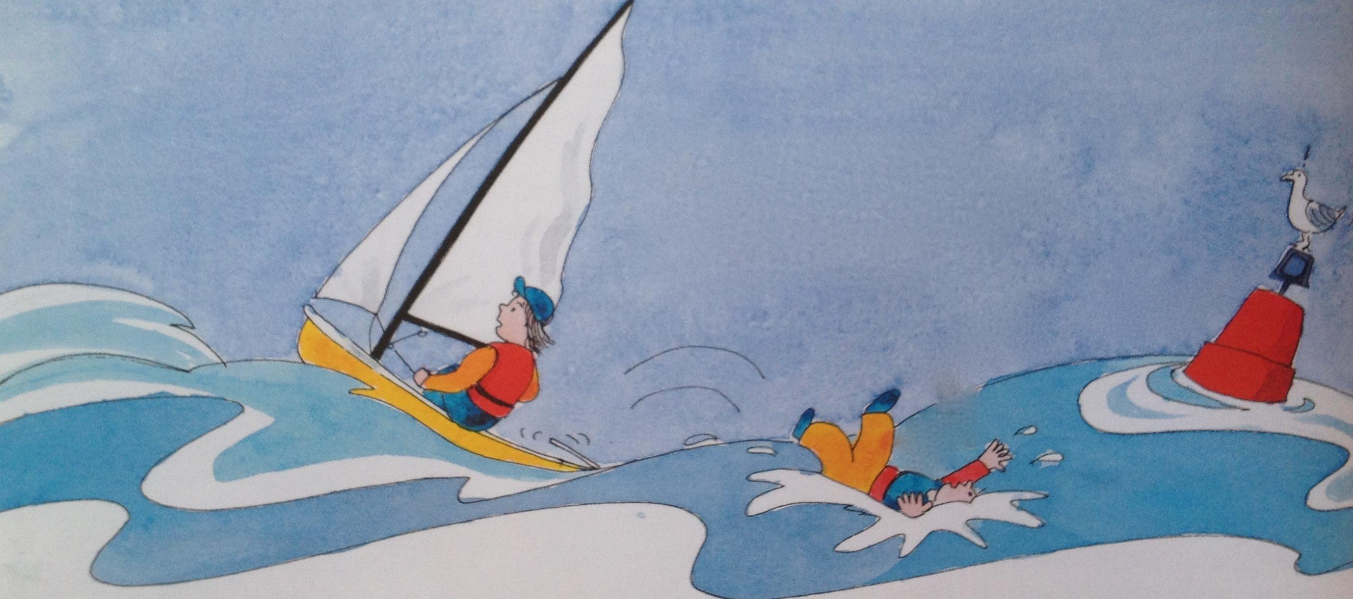 救生衣 航行中若有船员不慎掉入水中,采用以下办法尽快解救。 64c.jpg