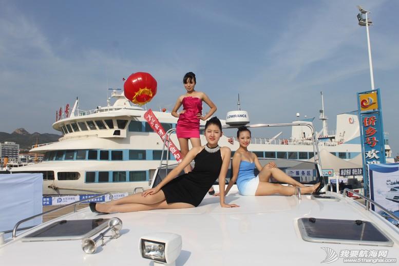 威海 船上的妹纸最性感-威海游艇展模特 8.jpg