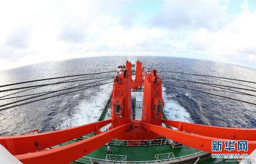 """雪龙号 【雪龙号动态】""""雪龙号""""再赴南极 20141101 台湾东南部"""