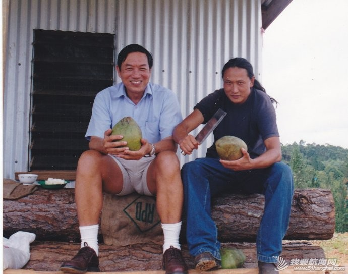 南太平洋,日本海,姜太公,航海家,二手 十三年前在南太平洋认识的老友南太井蛙笔下的《翟墨与海》 1.jpg