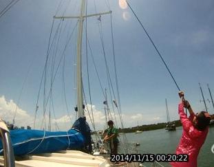 sailing,church,滑翔伞,英语班,凤凰 进入干不完的活状态:各个角落除锈补漆,铁壳船真麻烦。 5.png