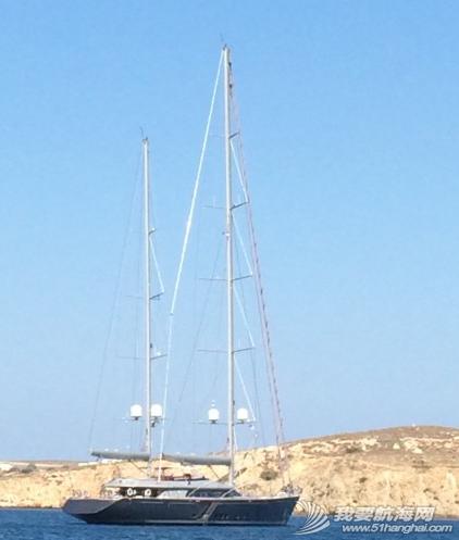 爱琴海,小朋友,帆船,海边,美的 这个季节爱琴海海域刮季风,我们的船几乎没有一刻停止过摇晃。 7.png