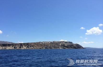 火山爆发,火山灰,火山口,火山岩,启航 9月3日,一早启航,前往著名的圣托里尼。 5.png