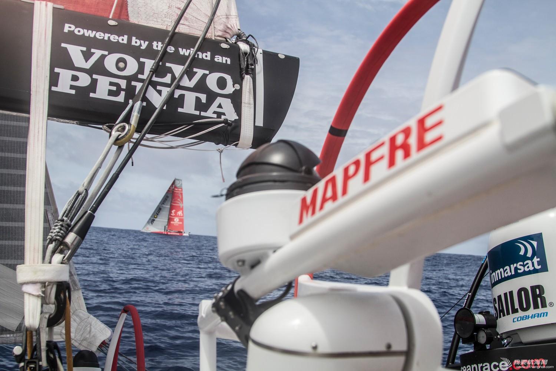 西班牙,阿布扎比,沃尔沃,拉锯战,东方 船队排位竞争激烈 阿布扎比队另辟蹊径
