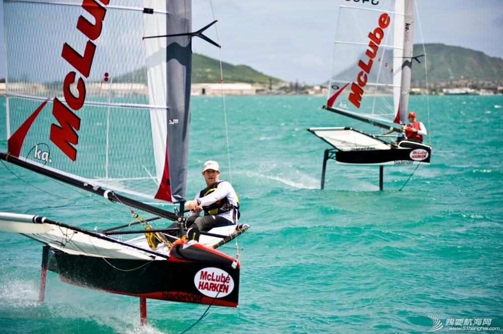 帆板,3D效果图,运动型,英文,帆船 Moth Class蛾级帆船--运动型小帆船介绍 蛾式帆船
