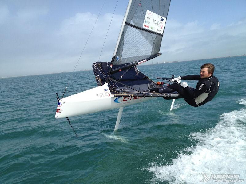 帆板,3D效果图,运动型,英文,帆船 Moth Class蛾级帆船--运动型小帆船介绍 蛾级帆船