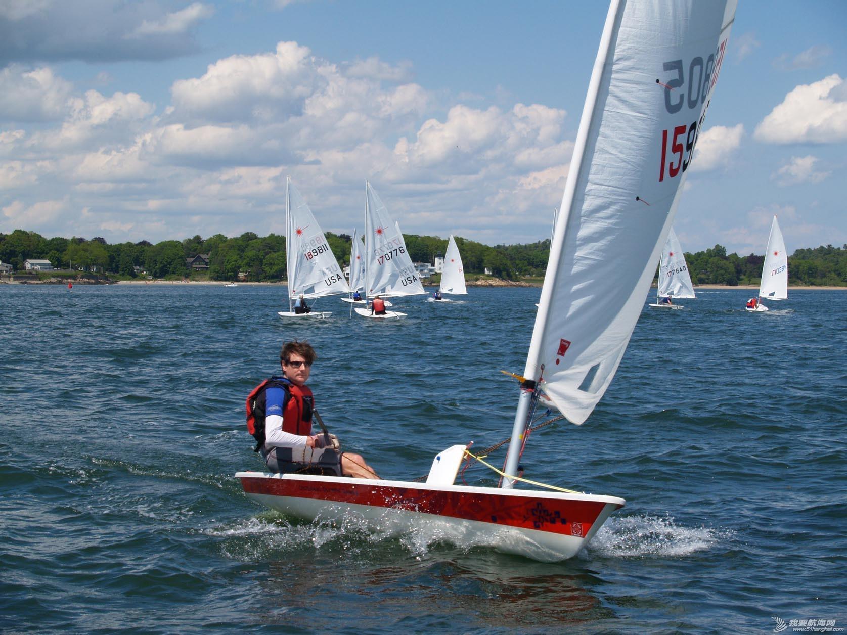 帆船,加拿大人,sailing,布鲁斯,激光级 Laser sailing激光级帆船介绍-极具魅力的运动型单体稳向板帆船 5.jpg