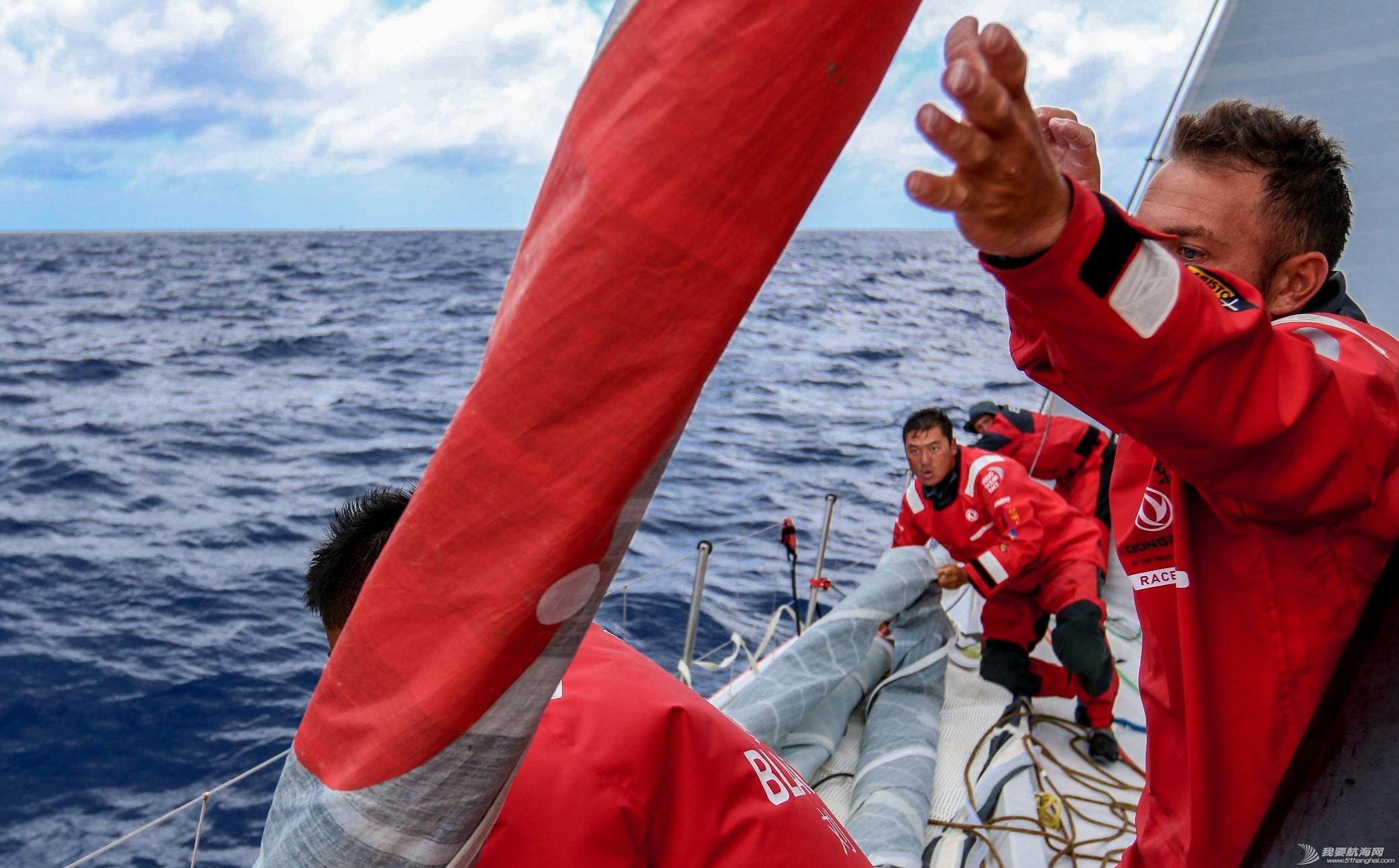 毛里求斯,阿布扎比,沃尔沃,热带低气压,印度洋 热带风暴降级 船队易借风航行