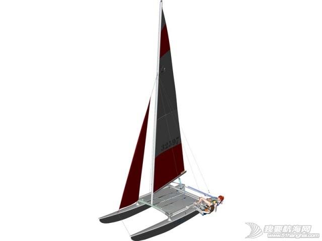 Hobie运动型双体帆船介绍-世界销量最大的轻型双体帆船 Hobie 16双体帆船