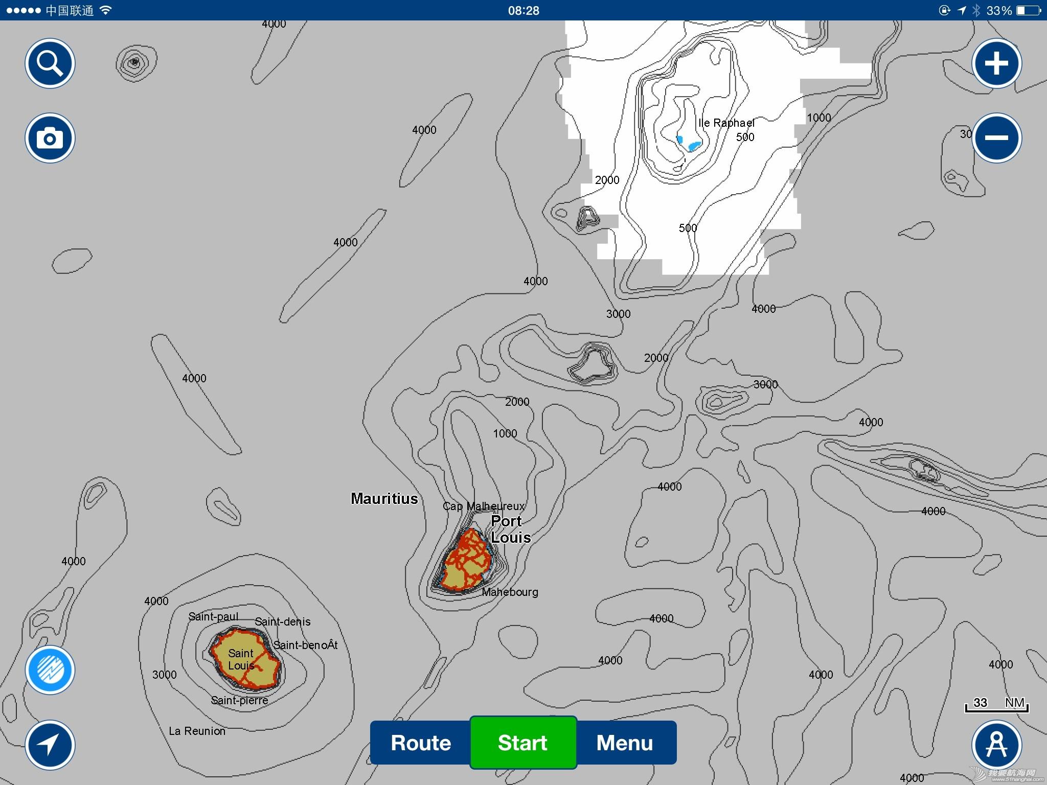 大家看看海图,触礁的地点是这里吗 右上角的蓝点