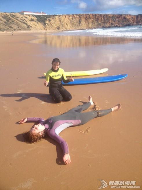 Caroline,大西洋,shelter,葡萄牙,天气 风浪涌:就这样轻轻的离开了岸上生活了两个多月的Porto。 4.jpg