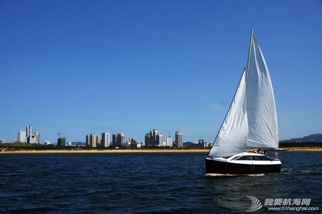 卫生间,帆船,北京吉普,山东威海,双人床 7.5米帆船游艇出售,机帆两用有船舱卧室独立卫生间 5.jpg