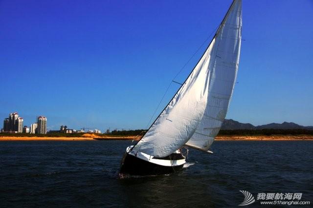卫生间,帆船,北京吉普,山东威海,双人床 7.5米帆船游艇出售,机帆两用有船舱卧室独立卫生间 8.jpg