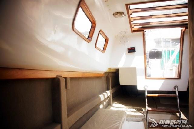 卫生间,帆船,北京吉普,山东威海,双人床 7.5米帆船游艇出售,机帆两用有船舱卧室独立卫生间 10.jpg