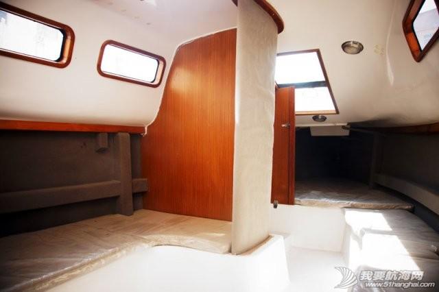 卫生间,帆船,北京吉普,山东威海,双人床 7.5米帆船游艇出售,机帆两用有船舱卧室独立卫生间 13.jpg