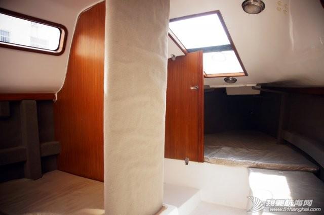 卫生间,帆船,北京吉普,山东威海,双人床 7.5米帆船游艇出售,机帆两用有船舱卧室独立卫生间 12.jpg