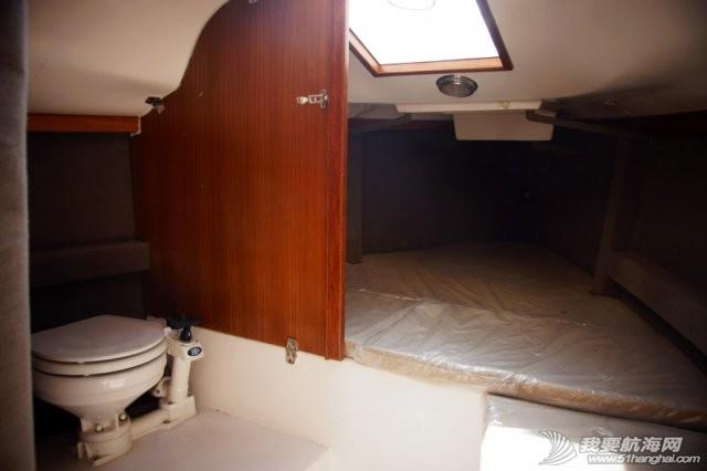 卫生间,帆船,北京吉普,山东威海,双人床 7.5米帆船游艇出售,机帆两用有船舱卧室独立卫生间 14.jpg
