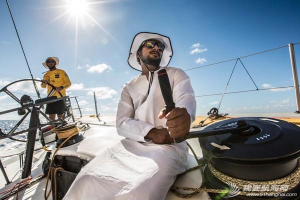 阿布扎比,沃尔沃,阿联酋,帆船运动,海岸线 最后的1000海里