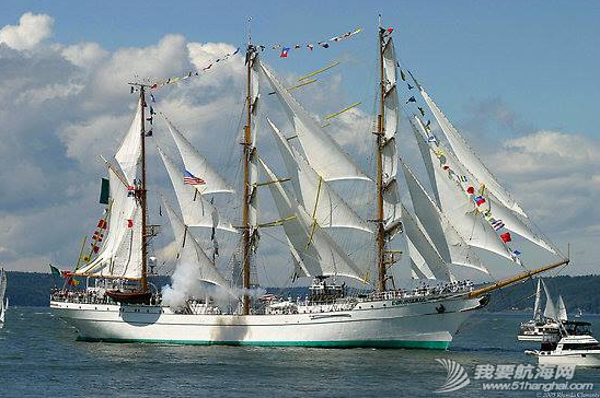 墨西哥,帆船 墨西哥海軍帆船訓練艦 222.png