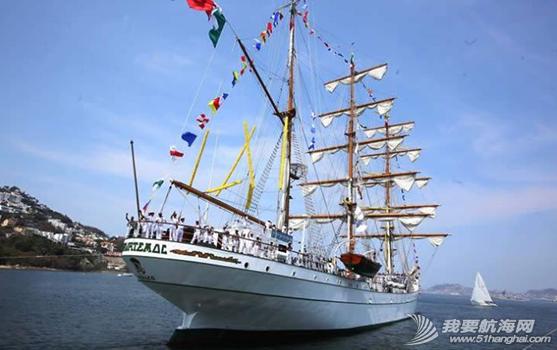 墨西哥,帆船 墨西哥海軍帆船訓練艦 333.png