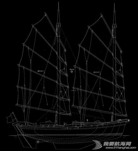 中式帆船游艇-茉莉花号
