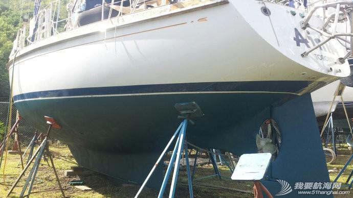 爱妮娅,环球航行,帆游,整船 爱妮娅环球航行 帆游2015 - 整船过后,等待下水