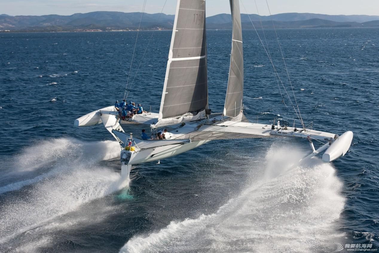 帆船 水翼,让帆船起飞 AC72水翼帆船
