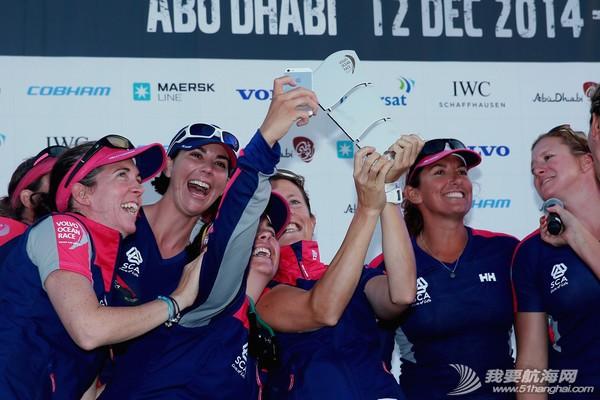 北京时间,阿布扎比,沃尔沃,航标,技术 全女子船队爱生雅队勇夺阿布扎比港内赛冠军