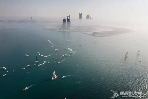 北京时间,阿布扎比,沃尔沃,海岸线,关键点 第三赛段起航 驶向中国三亚