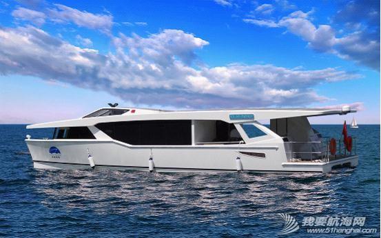 不锈钢扶手,液晶电视,真皮沙发,播放器,LED灯带 内湖使用纯太阳能双体动力艇Usun50 09.jpg