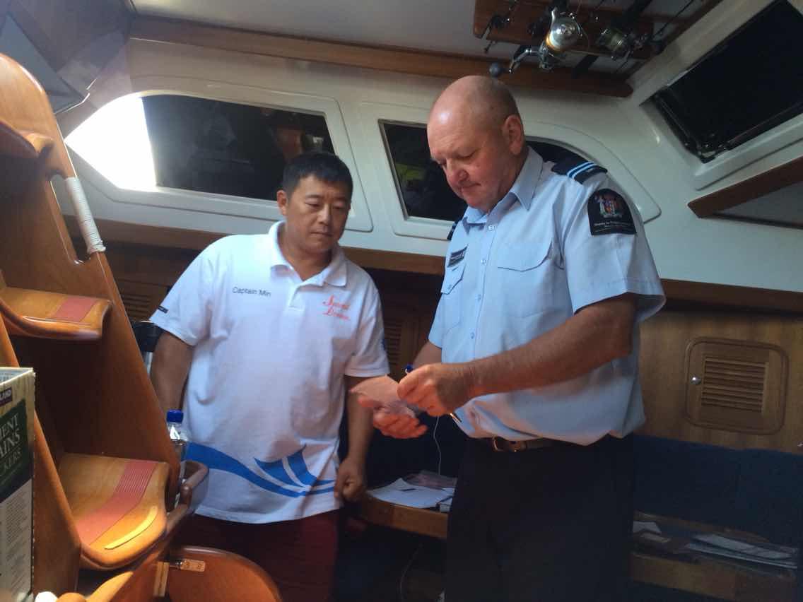 1100,新西兰,安康,朋友,曙光 2015年1月1日,第二梦想号的逐梦水手们正在大海上航行,迎接着新年的第一缕曙光! 923542299.jpg