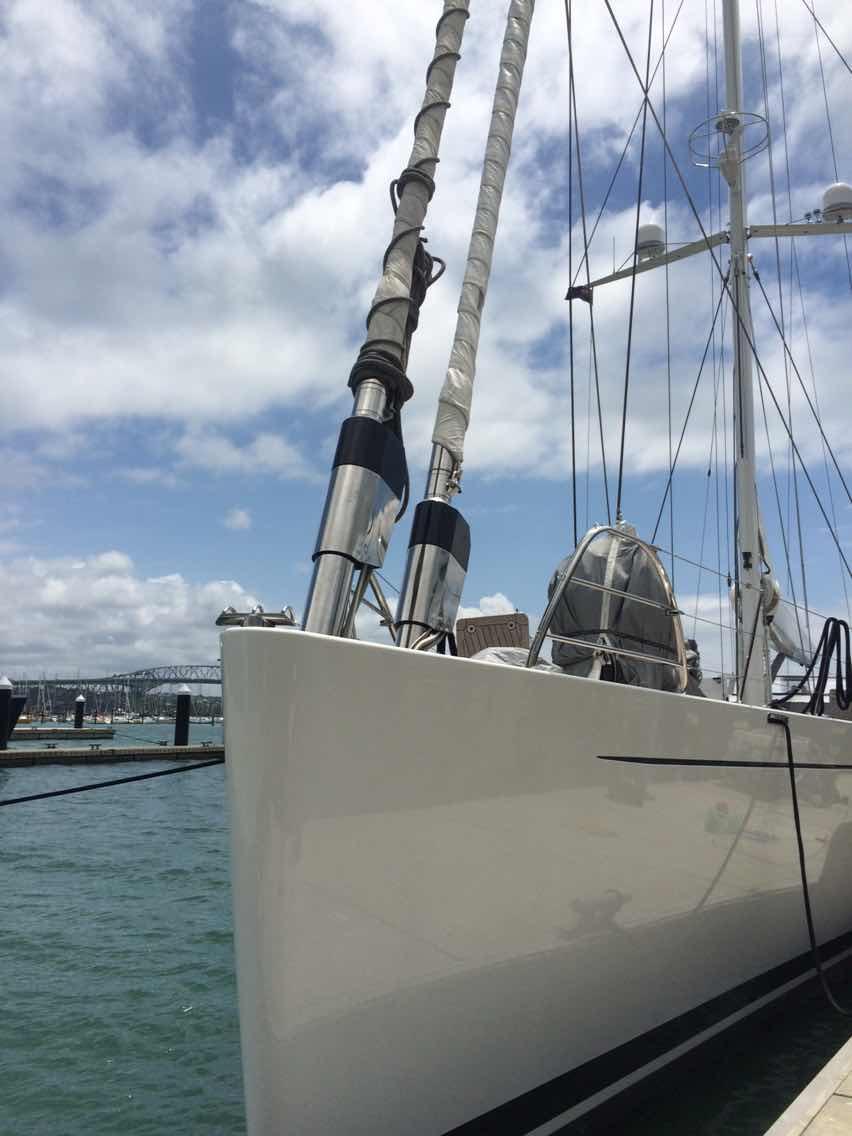 新西兰,合恩角,奥克兰,小两口,美国 1月8日,刚耀带高民船长去找Salperton号船长,他们马上就要出发过合恩角. 1045815879.jpg