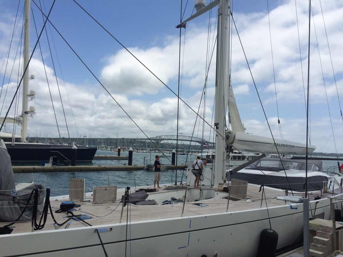 新西兰,合恩角,奥克兰,小两口,美国 1月8日,刚耀带高民船长去找Salperton号船长,他们马上就要出发过合恩角. 817877078.jpg