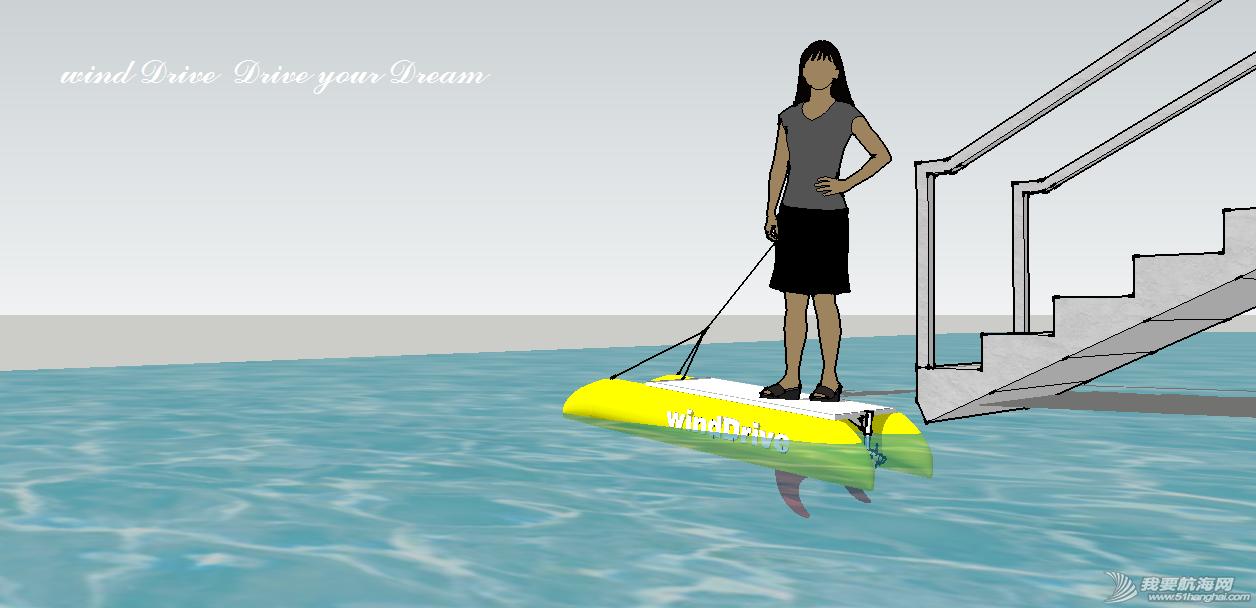 冲浪板 最简单的DIY电动充气冲浪板设计 效果图2