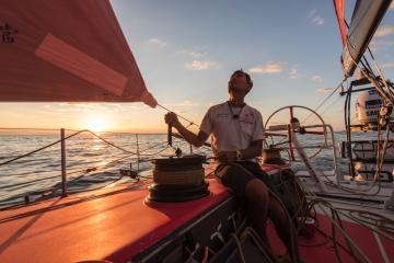 中国船员,苏格拉底,沃尔沃,帆船运动,红豆薏仁 我是郑英杰,我是一名骄傲的中国船员。 3.jpg