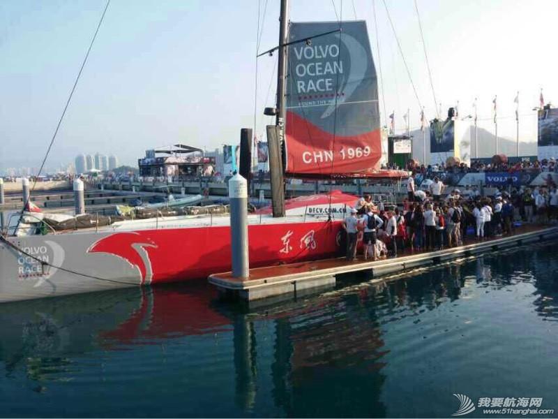 沃尔沃环球帆船赛东风队回家,第一个冲线! 091341rgwa63g1d2b9a4dd.jpg