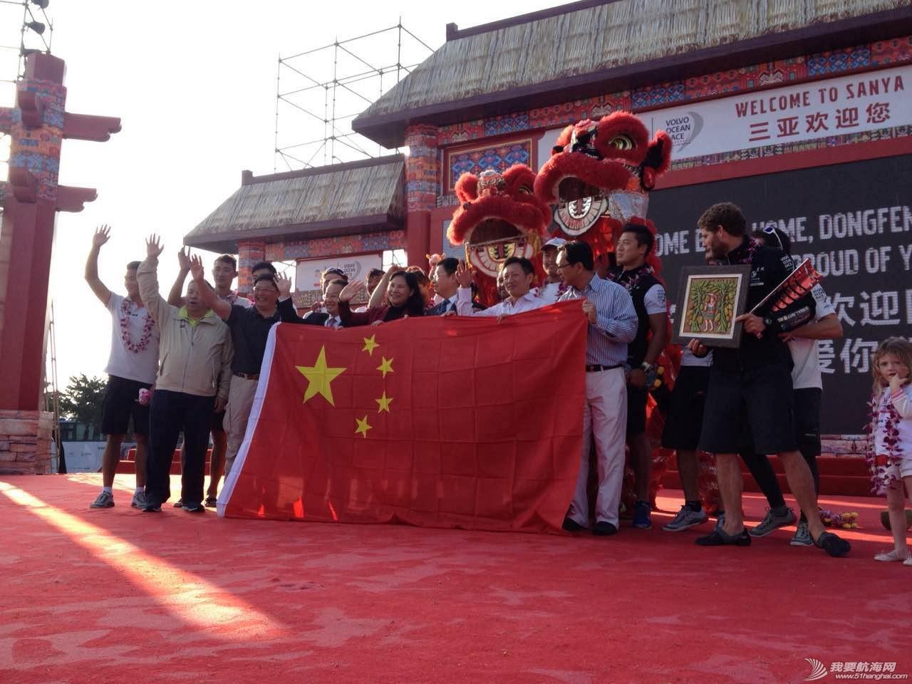 沃尔沃环球帆船赛东风队回家,第一个冲线! 3.pic.jpg