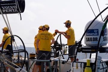 六支船队同一日到港 沃尔沃帆船赛第三赛段圆满落幕 1.jpg