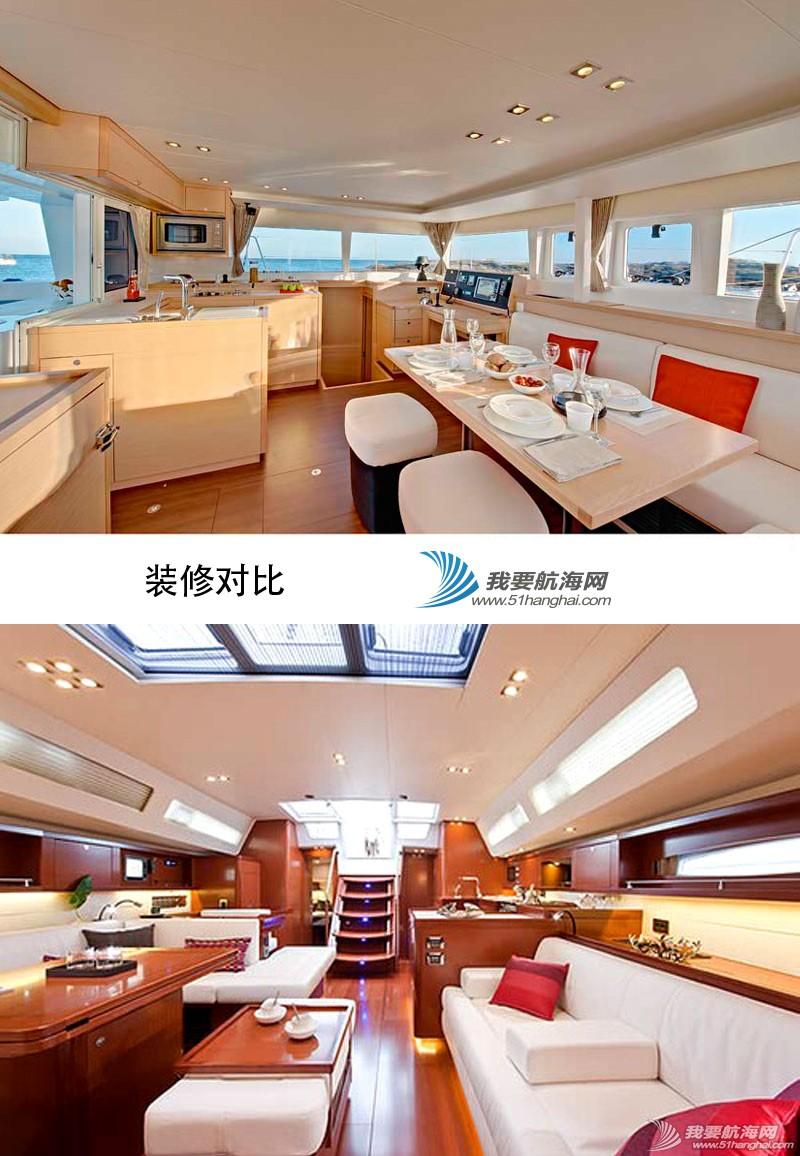 帆船 单体帆船好还是双体帆船好?单体双体巡航帆船全方位对比 帆船装修