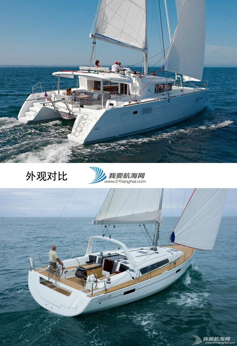 帆船 单体帆船好还是双体帆船好?单体双体巡航帆船全方位对比 帆船照片