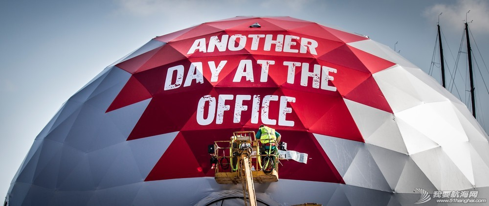 沃尔沃,印度洋,真实故事,创造历史,办公室 带你玩转三亚站赛事村——第三站【在办公室的另一天】