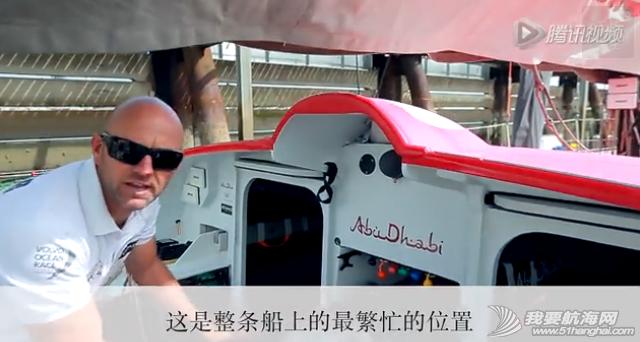 沃尔沃,阿布扎比,高科技,横截面,帆船 【视频】伊恩·沃克船长介绍沃尔沃Ocean 65帆船的结构 15.png