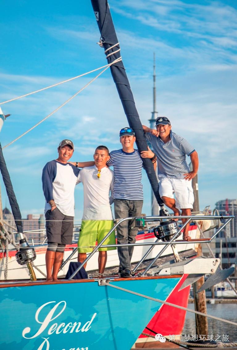 环游世界,珠穆朗玛,新西兰,机械师,合恩角 第二梦想号:我是水手