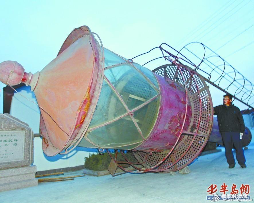 胶州湾,管理站,西海岸,中国,青岛 中国现存最古老大灯船重现原貌 0.jpg