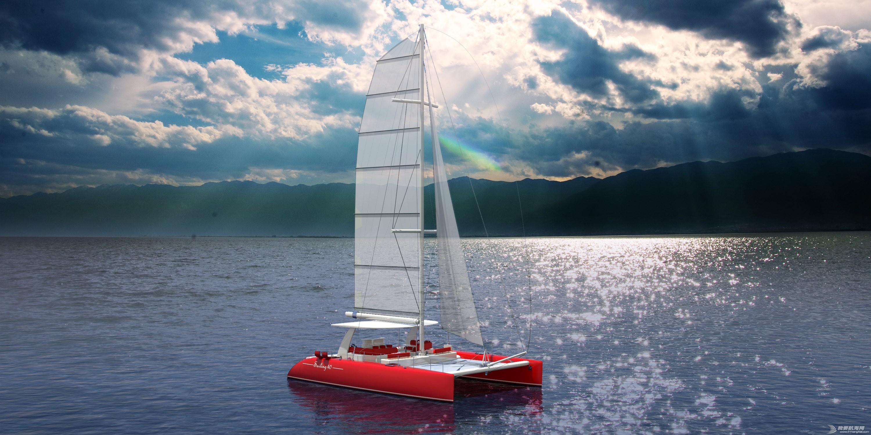 休闲旅游,有限公司,帆船,证书,日照 40英尺双体帆船,比赛休闲两用,法定船检证书和试航证书 可用于业余比赛