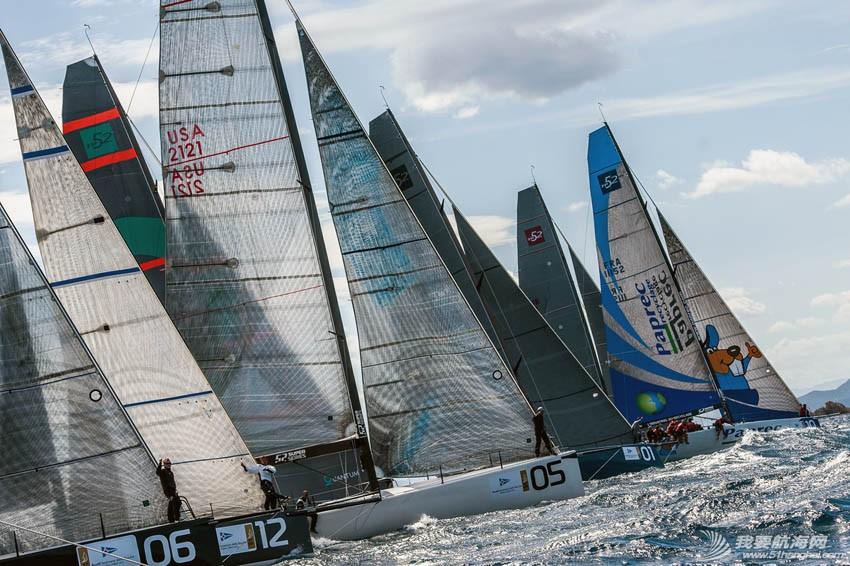 2014,手机 TP52竞赛型帆船比赛视频集锦